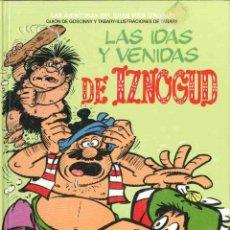 Cómics: LAS IDAS Y VENIDAS DE IZNOGOUD. Lote 124646559