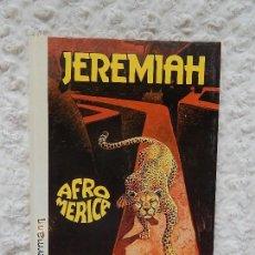 Cómics: JEREMIAH - AFROMERICA - N. 7. Lote 125110963