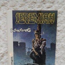 Cómics: JEREMIAH - BOOMERANG - N. 11. Lote 125111591
