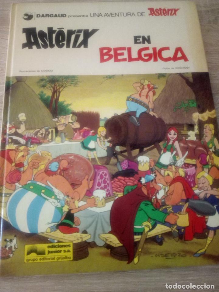 ASTÉRIX EN BELGICA - EDITORIAL GRIJALBO 1979 (Tebeos y Comics - Grijalbo - Asterix)