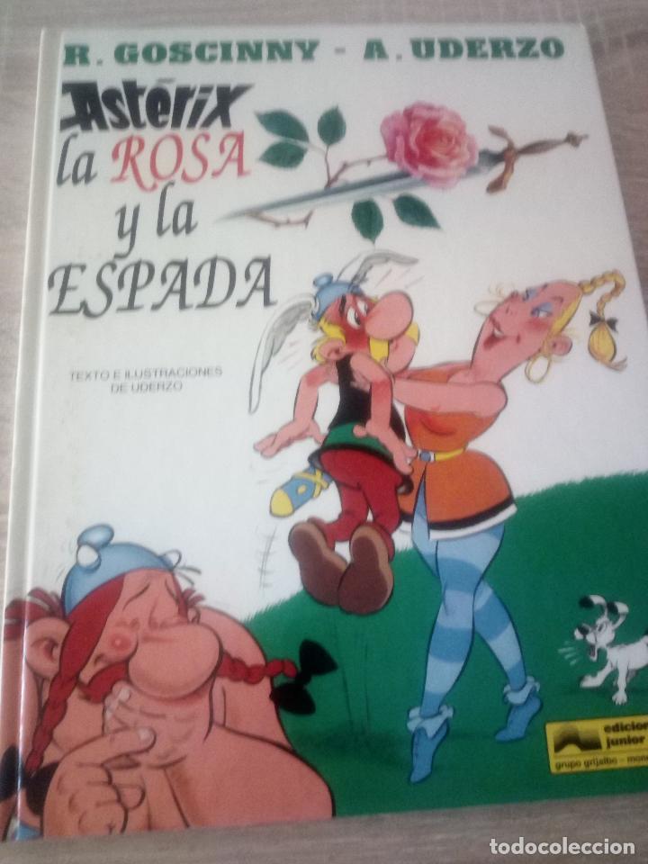 ASTÉRIX - LA ROSA Y LA ESPADA - EDITORIAL GRIJALBO 1991 (Tebeos y Comics - Grijalbo - Asterix)
