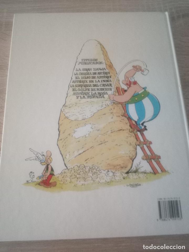 Cómics: ASTÉRIX - LA ROSA Y LA ESPADA - EDITORIAL GRIJALBO 1991 - Foto 2 - 125122763