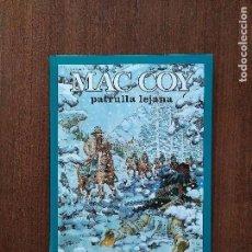 Cómics: TOMO MAC COY PATRULLA LEJANA. Lote 125156379