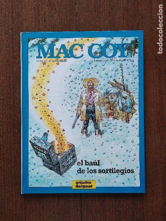 TOMO MAC COY EL BAÚL DE LOS SORTILEGIOS (Tebeos y Comics - Grijalbo - Mac Coy)