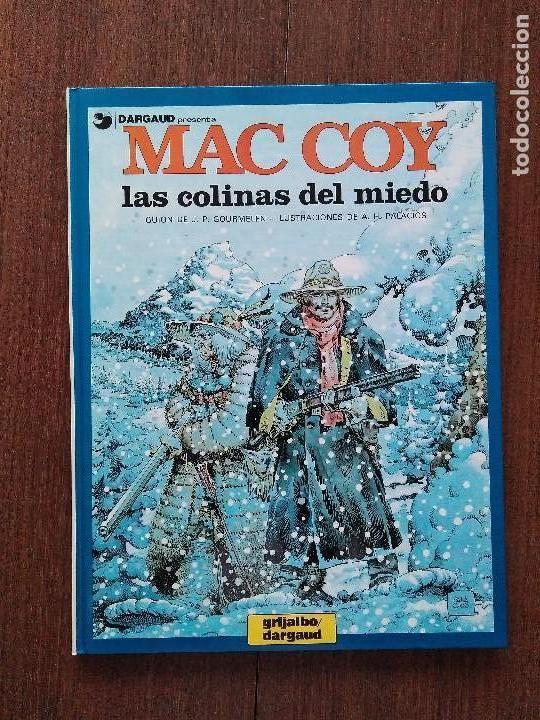 TOMO MAC COY LAS COLINAS DEL MIEDO (Tebeos y Comics - Grijalbo - Mac Coy)