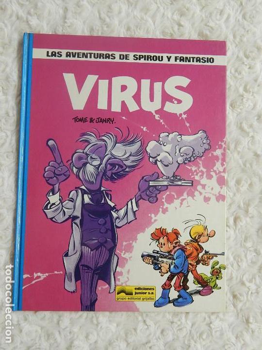 LAS AVENTURAS DE SPIROU Y FANTASIO - VIRUS - 19 (Tebeos y Comics - Grijalbo - Spirou)