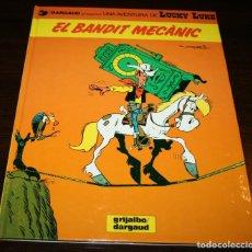 Cómics: LUCKY LUKE - EL BANDIT MECÀNIC - MORRIS - GRIJALBO/DARGAUD - 1993 - EN CATALÁN. Lote 125324383