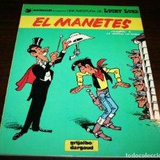 Cómics: LUCKY LUKE - EL MANETES - MORRIS/LO HARTOG - GRIJALBO/DARGAUD - 1984 - EN CATALÁN . Lote 125324607