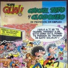 Cómics: TEBEO N°1 CHICHA TATO Y CLODOVEO 1987. Lote 125391428