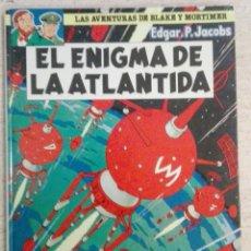 Cómics: LAS AVENTURAS DE BLAKE Y MORTIMER NÚM. 4 - EL ENIGMA DE LA ATLANTRIDA. Lote 125444363