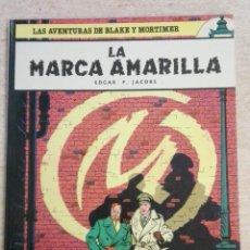 Cómics: LAS AVENTURAS DE BLAKE Y MORTIMER NÚM. 3 - LA MARCA AMARILLA. Lote 125444523