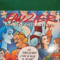 Cómics: DIARIO DEL ARTISTA - LAUZIER. Lote 126095235