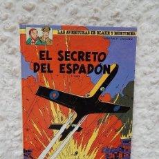Cómics: LAS AVENTURAS DE BLAKE Y MORTIMER - EL SECRETO DEL ESPADON N. 9. Lote 155716709