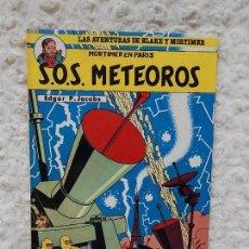 Cómics: LAS AVENTURAS DE BLAKE Y MORTIMER - S.O.S. METEOROS N. 5. Lote 126176407