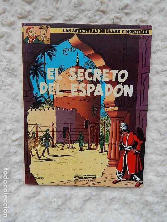 LAS AVENTURAS DE BLAKE Y MORTIMER - EL SECRETO DEL ESPADON N. 10 (Tebeos y Comics - Grijalbo - Blake y Mortimer)