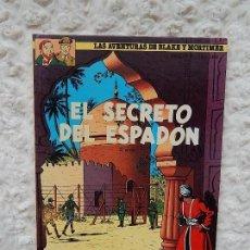 Cómics: LAS AVENTURAS DE BLAKE Y MORTIMER - EL SECRETO DEL ESPADON N. 10. Lote 155716716