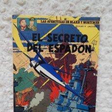 Cómics: LAS AVENTURAS DE BLAKE Y MORTIMER - EL SECRETO DEL ESPADON N. 11. Lote 126177251