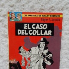 Cómics: LAS AVENTURAS DE BLAKE Y MORTIMER - EL CASO DEL COLLAR N. 7. Lote 126177363