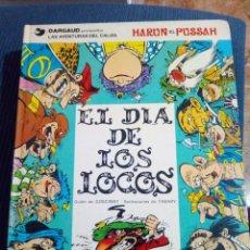 Cómics: LAS AVENTURAS DEL CALIFA HARUN EL PUSSAH. Nº 2 EDICIONES JUNIOR.. Lote 126192219