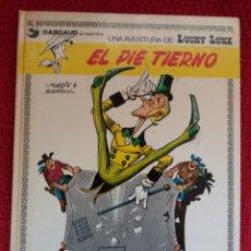 Cómics: LUCKY LUKE -EL PIE TIERNO-. Lote 126362764