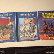 Cómics: EL TENIENTE BLUEBERRY - BALADA POR UN ATAUD Y LOS Nº 1 Y 2 DE LA EDICION COLECIONISTA. Lote 126682935