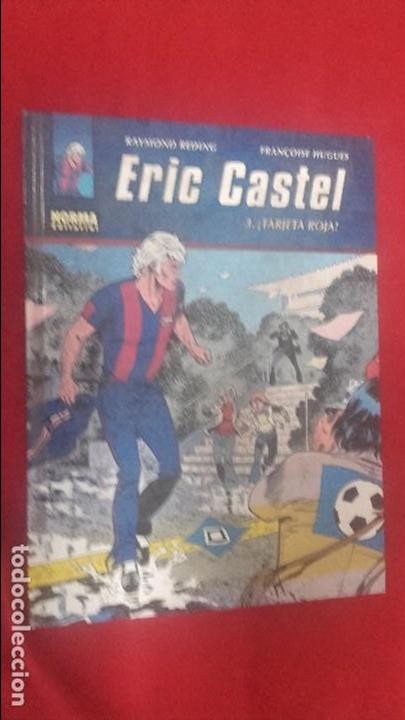 ERIC CASTEL 3 - TARJETA ROJA - REDING & HUGUES - ED. NORMA - CARTONE (Tebeos y Comics - Grijalbo - Eric Castel)