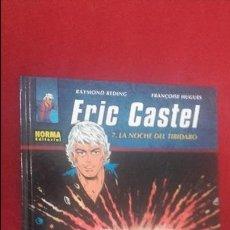 Cómics: ERIC CASTEL 7 - LA NOCHE DEL TIBIDABO - REDING & HUGUES - ED. NORMA - CARTONE. Lote 126807695