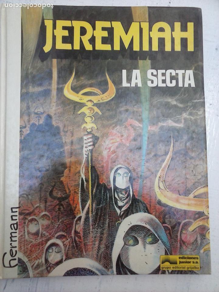 JEREMIAH Nº 6 - LA SECTA - GRIJALBO - JUNIOR 1983 - HERMAN - MUY BUEN ESTADO (Tebeos y Comics - Grijalbo - Jeremiah)