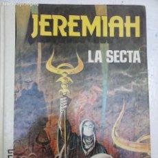 Cómics: JEREMIAH Nº 6 - LA SECTA - GRIJALBO - JUNIOR 1983 - HERMAN - MUY BUEN ESTADO. Lote 126960343