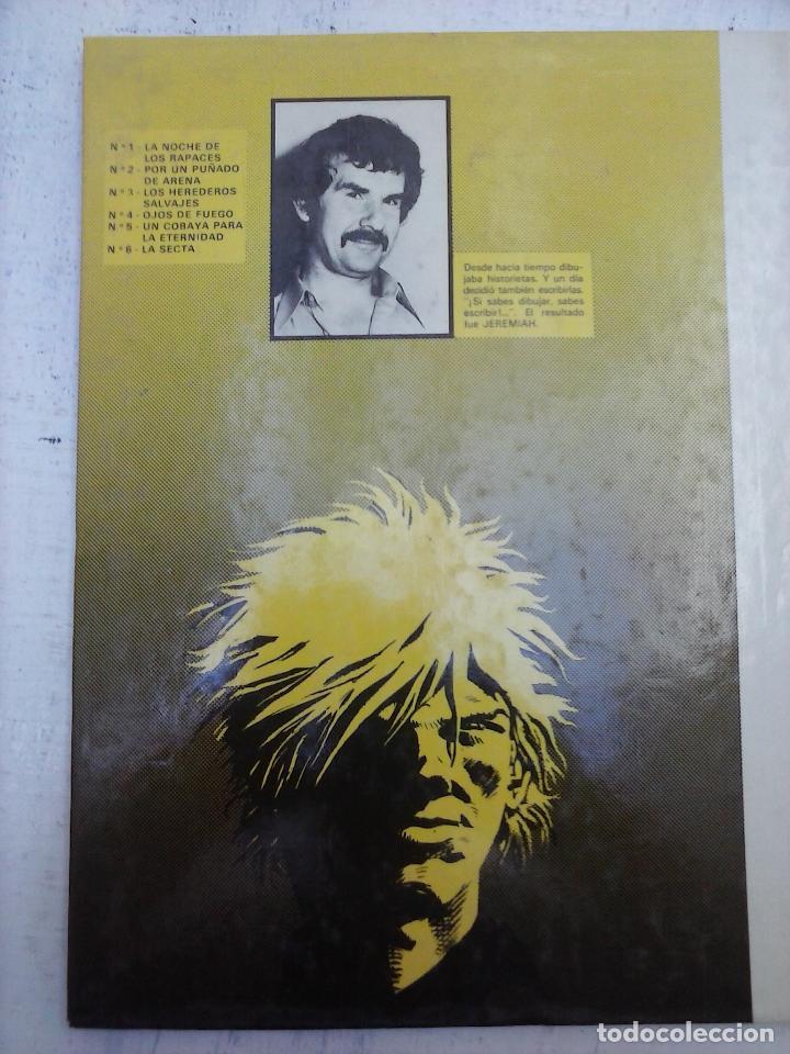 Cómics: JEREMIAH Nº 6 - LA SECTA - GRIJALBO - JUNIOR 1983 - HERMAN - MUY BUEN ESTADO - Foto 2 - 126960343