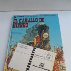Cómics: TENIENTE BLUEBERRY Nº 3 - EL CABALLO DE HIERRO - GRIJALBO DARGAUD 1980 - EXCELENTE ESTADO. Lote 127006351