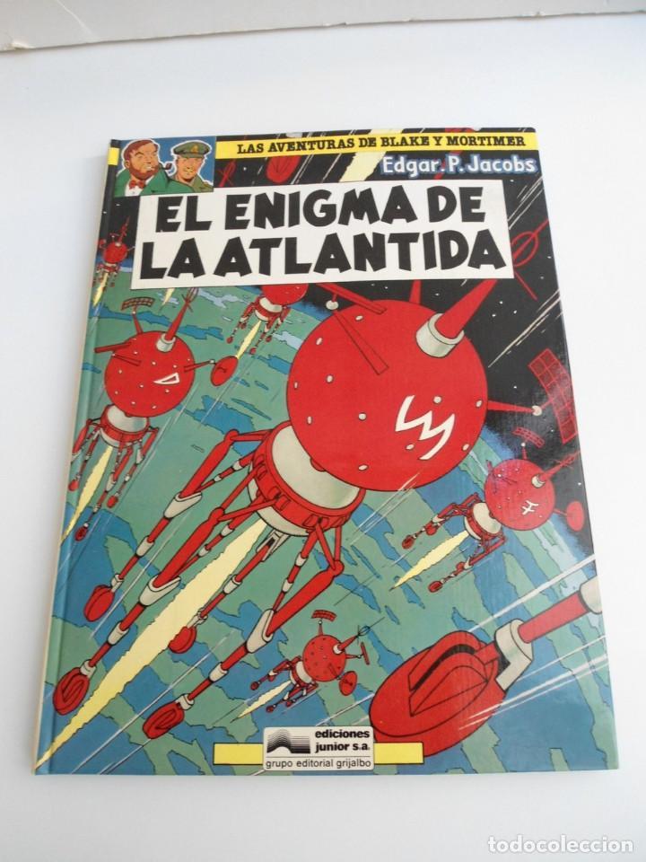 LAS AVENTURAS DE BLAKE Y MORTIMER Nº 4 - EL ENIGMA DE LA ATLANTIDA - JUNIOR GRIJALBO 1984 - PERFECTO (Tebeos y Comics - Grijalbo - Blake y Mortimer)