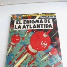 Cómics: LAS AVENTURAS DE BLAKE Y MORTIMER Nº 4 - EL ENIGMA DE LA ATLANTIDA - JUNIOR GRIJALBO 1984 - PERFECTO. Lote 127012851