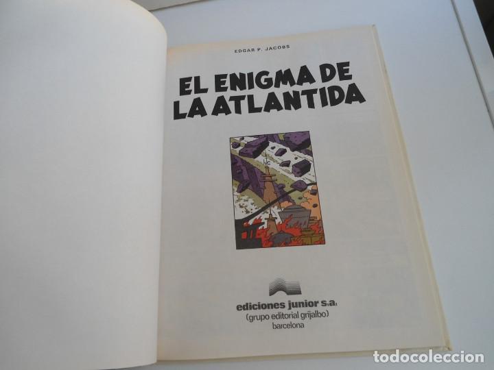 Cómics: LAS AVENTURAS DE BLAKE Y MORTIMER nº 4 - EL ENIGMA DE LA ATLANTIDA - JUNIOR GRIJALBO 1984 - PERFECTO - Foto 5 - 127012851