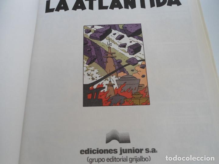 Cómics: LAS AVENTURAS DE BLAKE Y MORTIMER nº 4 - EL ENIGMA DE LA ATLANTIDA - JUNIOR GRIJALBO 1984 - PERFECTO - Foto 6 - 127012851