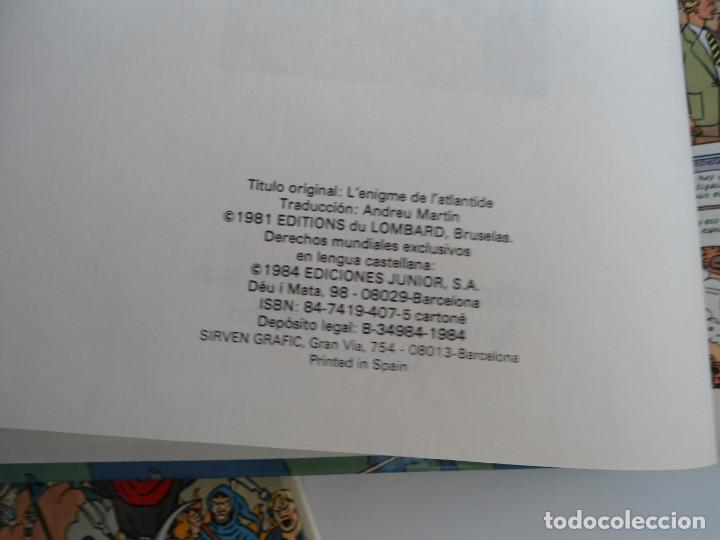 Cómics: LAS AVENTURAS DE BLAKE Y MORTIMER nº 4 - EL ENIGMA DE LA ATLANTIDA - JUNIOR GRIJALBO 1984 - PERFECTO - Foto 7 - 127012851