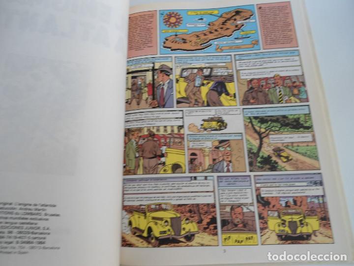 Cómics: LAS AVENTURAS DE BLAKE Y MORTIMER nº 4 - EL ENIGMA DE LA ATLANTIDA - JUNIOR GRIJALBO 1984 - PERFECTO - Foto 8 - 127012851