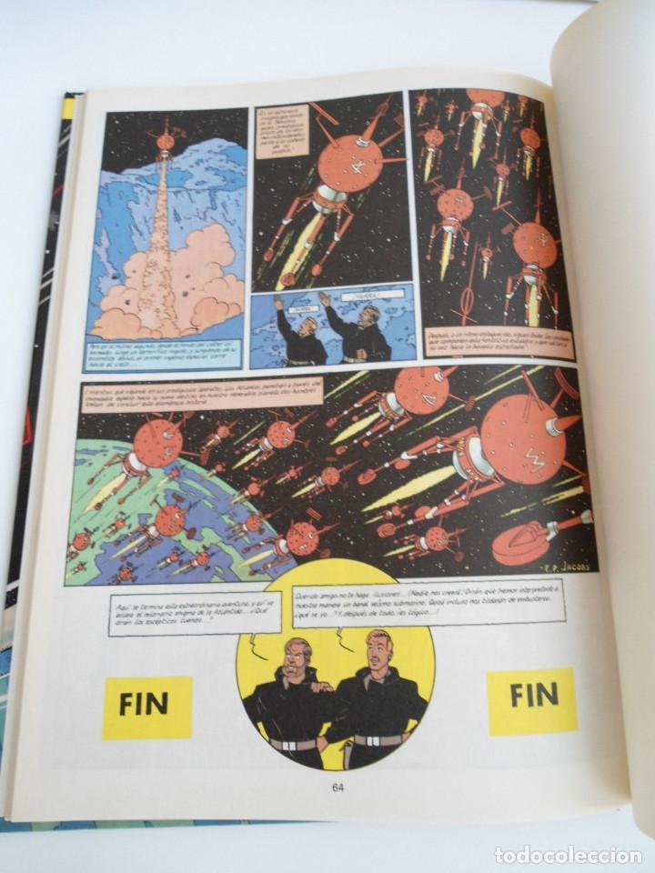 Cómics: LAS AVENTURAS DE BLAKE Y MORTIMER nº 4 - EL ENIGMA DE LA ATLANTIDA - JUNIOR GRIJALBO 1984 - PERFECTO - Foto 13 - 127012851