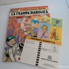 Cómics: LAS AVENTURAS DE BLAKE Y MORTIMER Nº 6 - LA TRAMPA DIABOLICA - JUNIOR GRIJALBO 1985 - PERFECTO. Lote 127013023