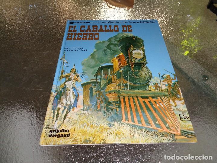 BLUEBERRY Nº 3 EL CABALLO DE HIERRO GRIJALBO.CEF (Tebeos y Comics - Grijalbo - Blueberry)