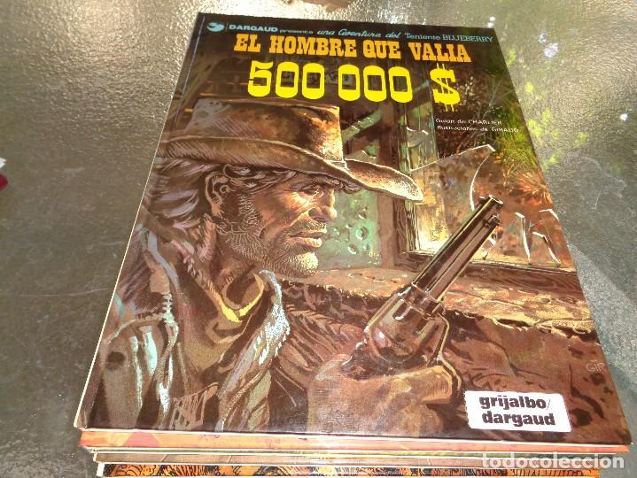 BLUEBERRY Nº 8 EL HOMBRE QUE VALIA 500 000 DOLARES $ GRIJALBO. CEF (Tebeos y Comics - Grijalbo - Blueberry)