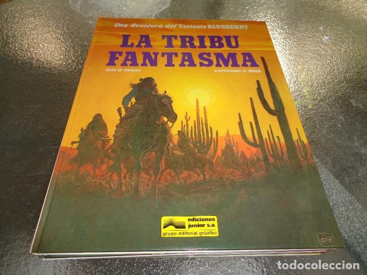 BLUEBERRY Nº 21 LA TRIBU FANTASMA GRIJALBO, CEF (Tebeos y Comics - Grijalbo - Blueberry)