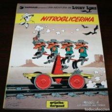Cómics: LUCKY LUKE - NITROGLICERINA - MORRIS/LO HARTOG - GRIJALBO/DARGAUD - 1987 - EN CATALÁN. Lote 127572415