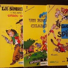 Cómics: COMICS - AVENTURAS DE SPIROU (SEPP MUNDIS) COLECCION COMPLETA (4 TOMOS). Lote 127621932