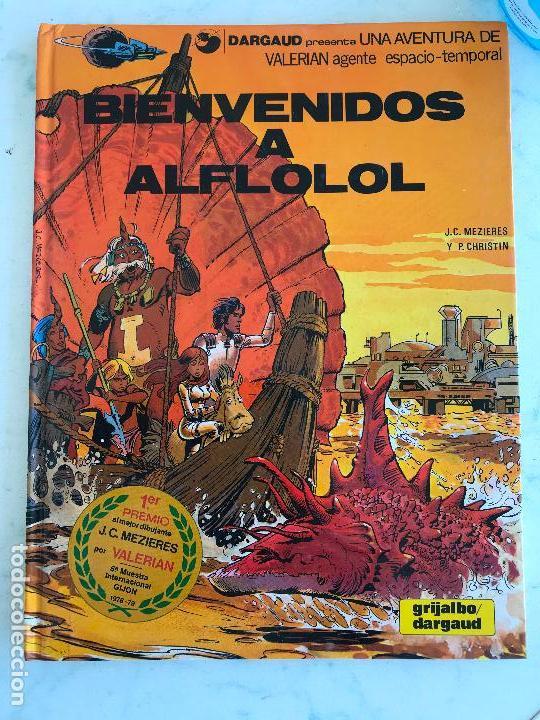 VALERIAN Nº 3 BIENVENIDOS A ALFLOLOL - PERFECTO TAPA DURA (Tebeos y Comics - Grijalbo - Valerian)