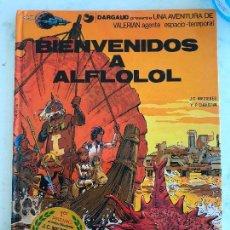Cómics: VALERIAN Nº 3 BIENVENIDOS A ALFLOLOL - PERFECTO TAPA DURA. Lote 127658603