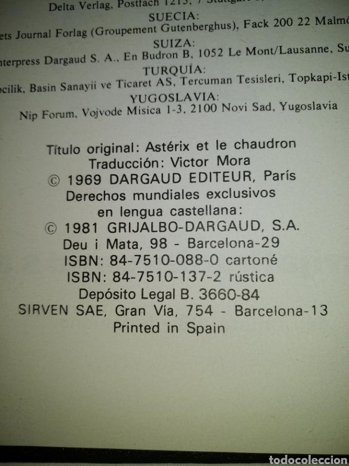 Cómics: LAS AVENTURAS DE ASTÉRIX N° 4 GRIJALBO-DARGAUD 1981. - Foto 2 - 127890966