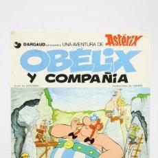 Cómics: CÓMIC TAPA DURA - OBÉLIX Y COMPAÑIA - EDIT. EDICIONES JUNIOR / GRIJALBO - AÑO 1976. Lote 127923776