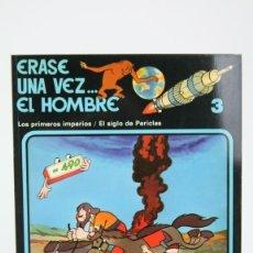 Cómics: CÓMIC DE TAPA BLANDA - ERASE UNA VEZ.... EL HOMBRE Nº 3 - EDIT. JUNIOR/GRIJALBO - AÑO 1979. Lote 127923923