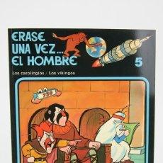 Cómics: CÓMIC DE TAPA BLANDA - ERASE UNA VEZ.... EL HOMBRE Nº 5 - EDIT. JUNIOR/GRIJALBO - AÑO 1979. Lote 127923964